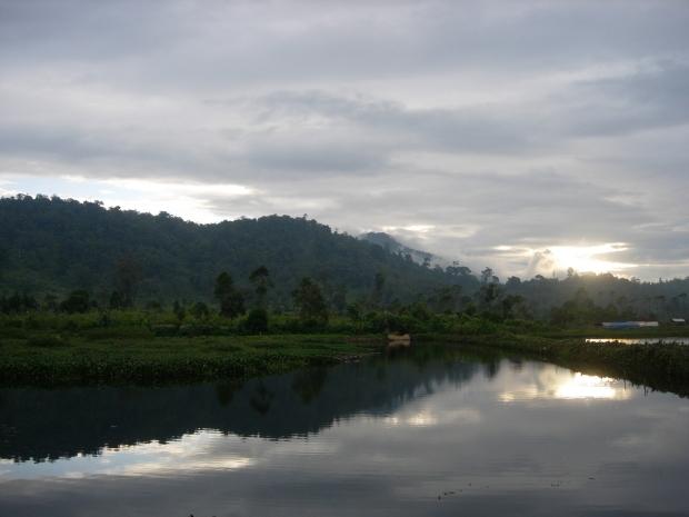Sunset di Kosan di Kamojang
